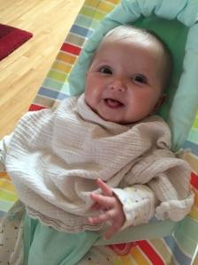 Baby muslin reflux