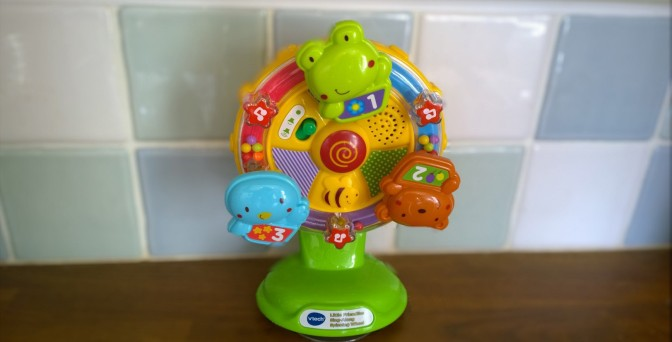 My best toy buy: VTech Little Friendlies Singalong Spinning Wheel