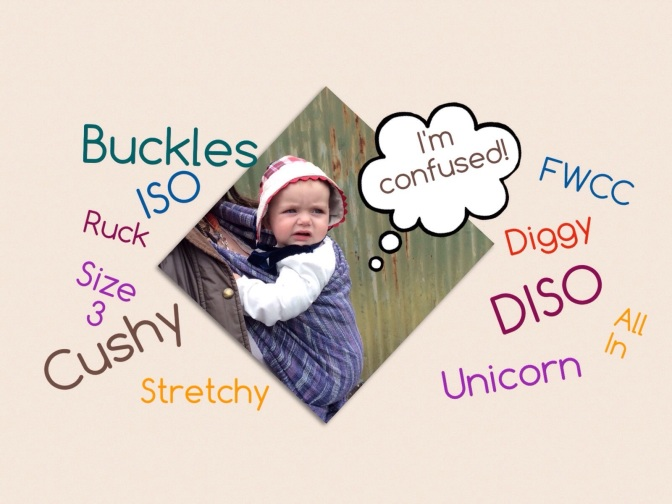 Sling Slang – a guide to baby carrier terms