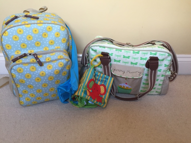 Flying long haul with baby – hand luggage